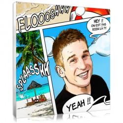 Comic Strip portrait - Sea - Square