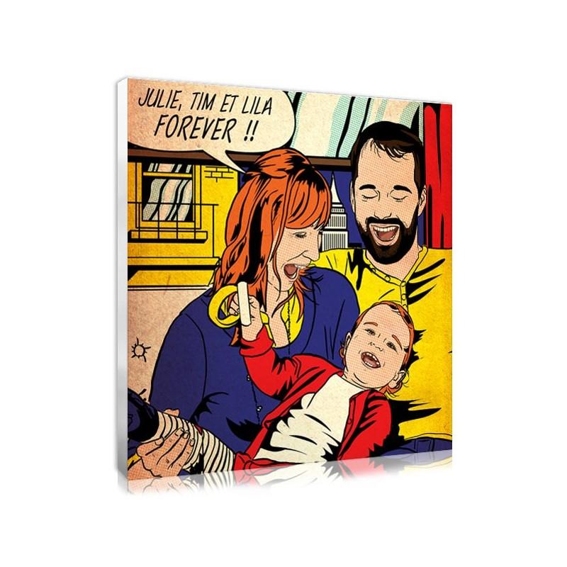 tableau photo sur toile personnalis 233 e cadeau noel votreportrait fr