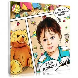 Portrait BD - chambre d'enfant