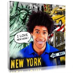 Comic Strip portrait - New York