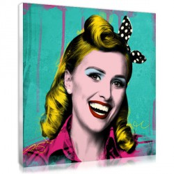 Pop Art rétro - femme