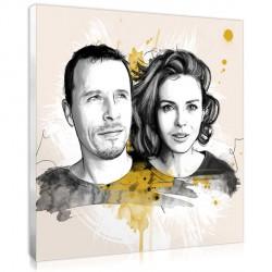Artist Sketch - Couple