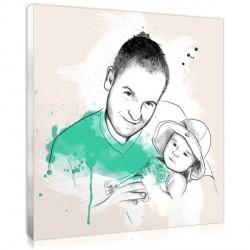 Artist Sketch - Family