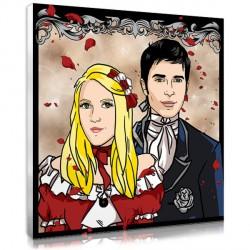 Couple Romantique - Portrait
