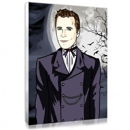 Tableau personnalisé manga gothique homme