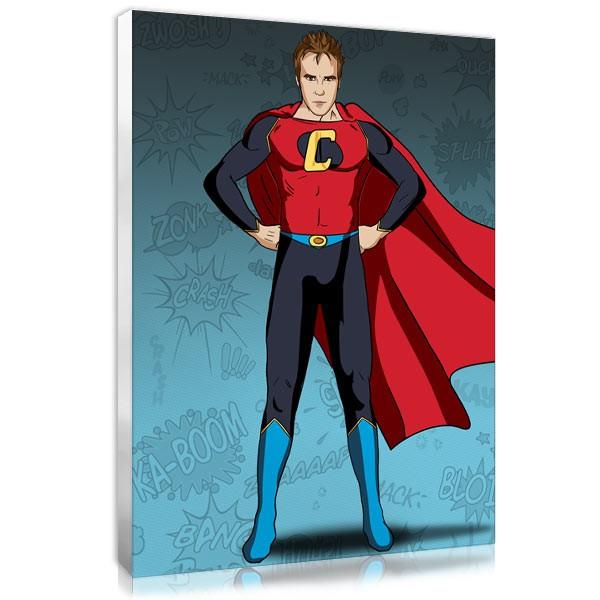 Superhero - blue