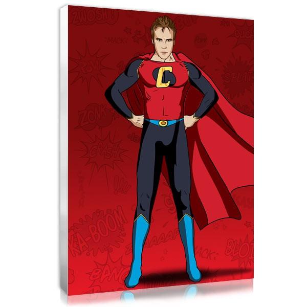 Superhero - rouge