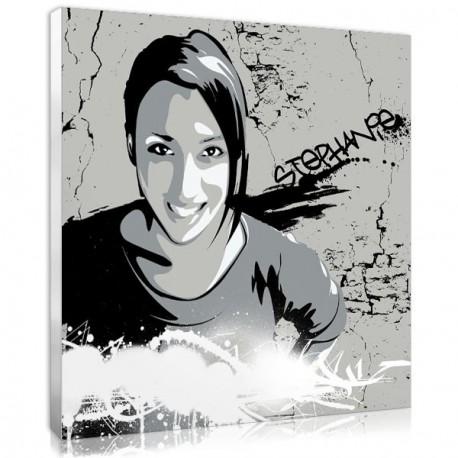 Offrez un tableau graffiti personnalisé pour la chambre de votre ado