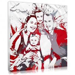 Retro Stencil - Family