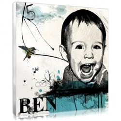 Stencil Letters - Child