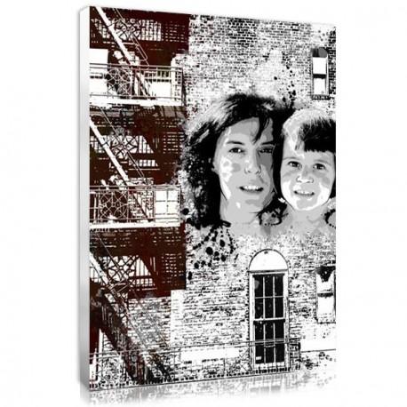 Cadeau personnalisé pour la fête des mère : Graffiti New York
