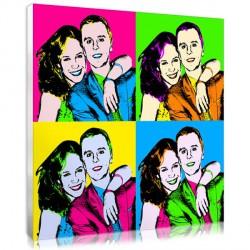 Pop Art – 4 squares - Wedding
