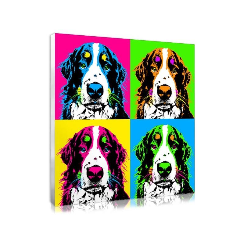 cadeau de no l pour chien portrait pop art personnalis. Black Bedroom Furniture Sets. Home Design Ideas