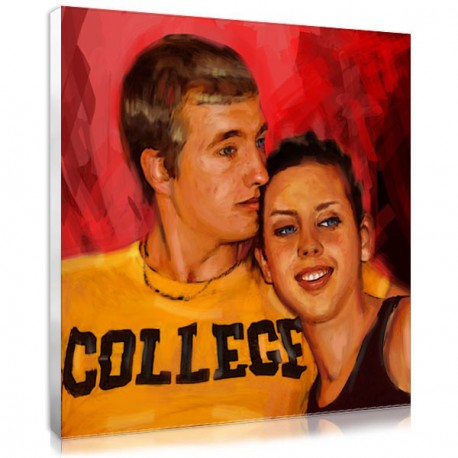 Turn your photo into artwork for Valentine's day