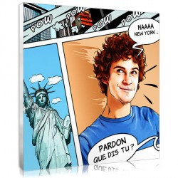 Portrait BD - New York - vacances