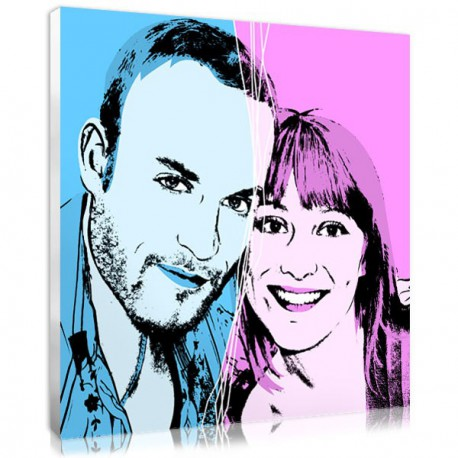 An original Valentine's day gift for your lover : your couple portrait