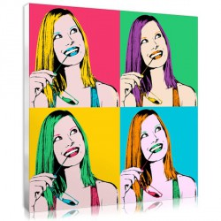 Flashy Pop Art – woman
