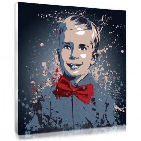Votre photo pop art sur toile style Splash, un portrait original de votre photo