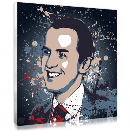 The splash portrait, an personalised Father's day gift made from his photo