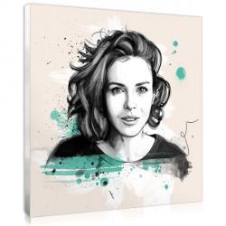 Artist Sketch Portrait