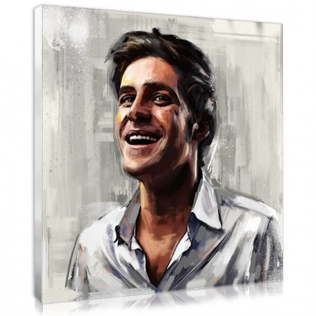 Father's Day original gift : the digital painting portrait
