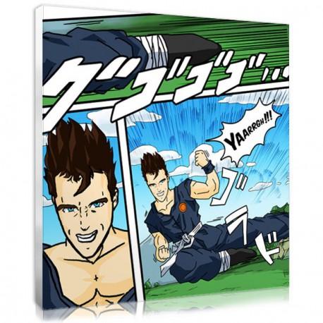 Create a manga with a photo for a personalised manga decor