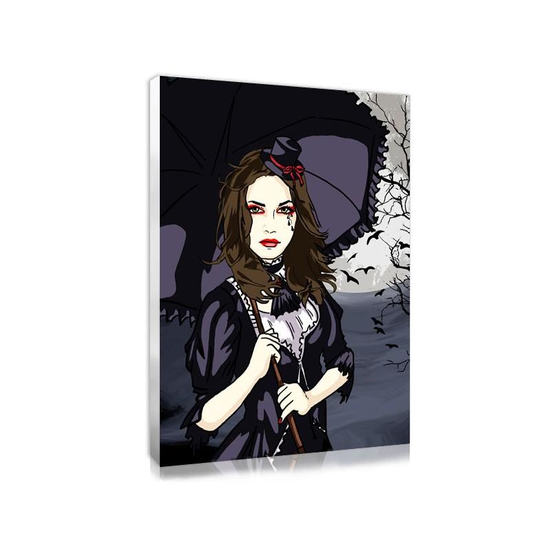 un portrait gothique r alis partir de votre photo. Black Bedroom Furniture Sets. Home Design Ideas