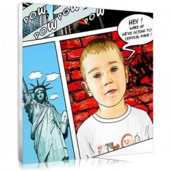 Portrait BD - New York -  ado/enfant