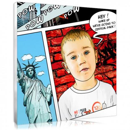 Cadeau pour ado : portrait BD New York