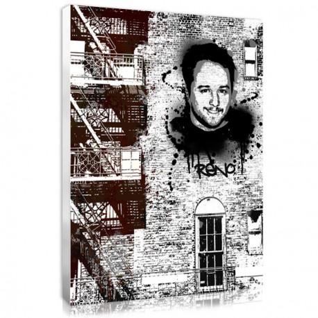 "Affiche personnalisée New York ""Wall"""