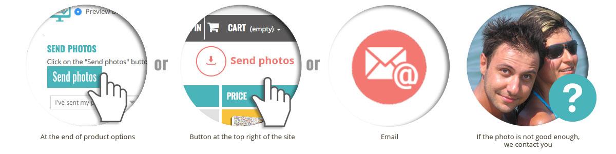 Send photos