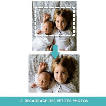 Recadrage petites photos