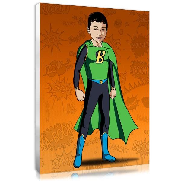 Comic boy - orange