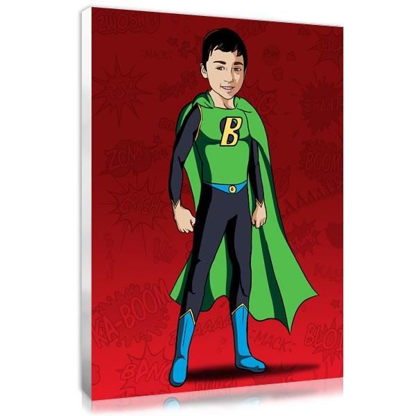 Comic boy - Red
