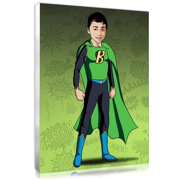 Comic boy - Green