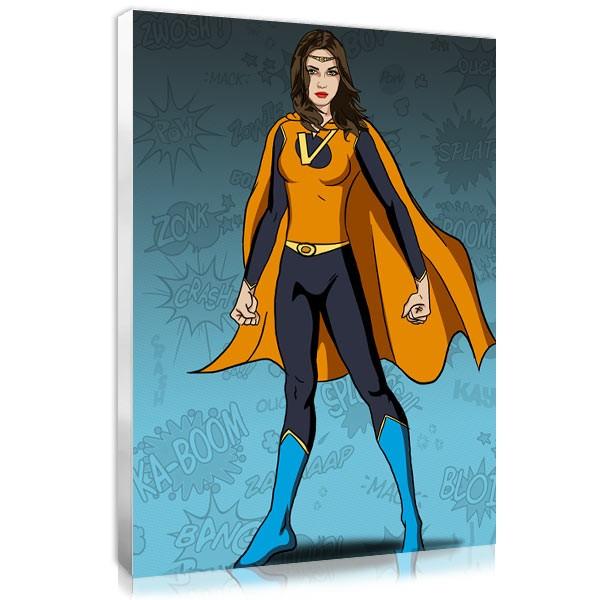 Superwoman - Blue