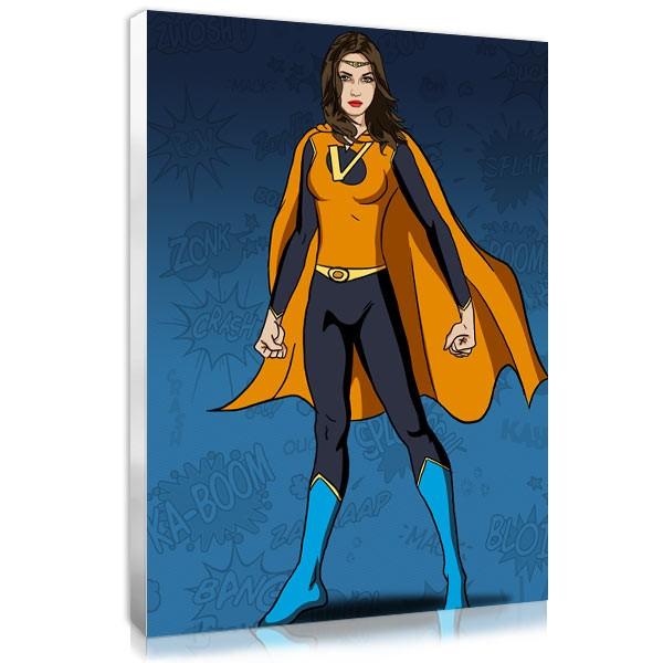 Superwoman - Navy