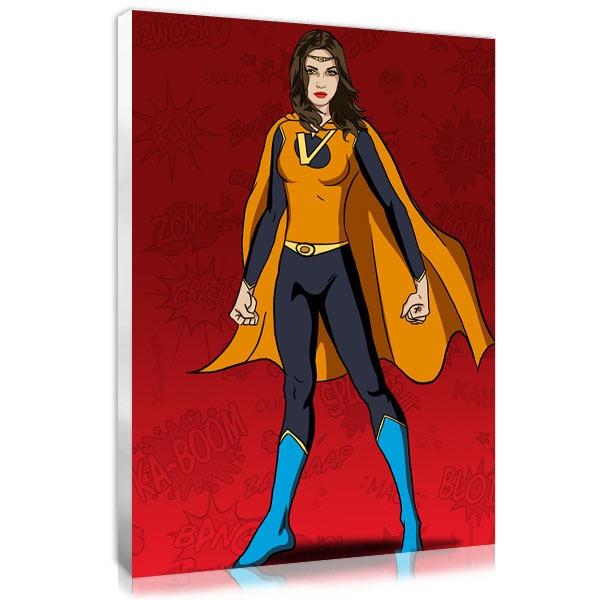 Superwoman - Red